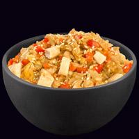 Рис по-японски с курицей
