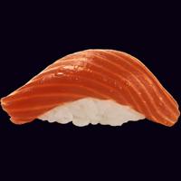 С пряным лососем