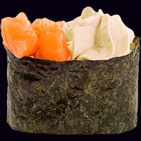 Сливочные суши с лососем