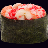 Сливочные суши с креветкой