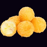 Сырные шарики с беконом