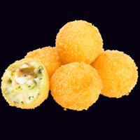 Сырные шарики с креветками