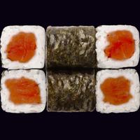 Сяке маки с пряным лососем