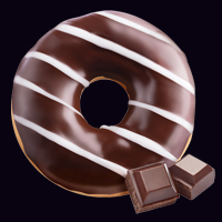 Донат шоколадный