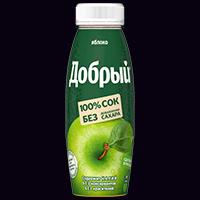 Сок добрый яблоко 0,33л