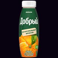 Сок добрый апельсин 0,33 л