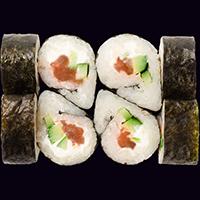 Осака с маринованным лососем